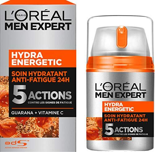 Rasage Soin Hydratant Anti-Fatigue Visage L'Oréal Males Knowledgeable Hydra Filled with life – 50 ml