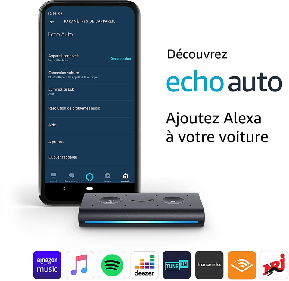 Musique Amazon lance Echo Auto en France